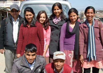 Forschungsreise mit Sharad