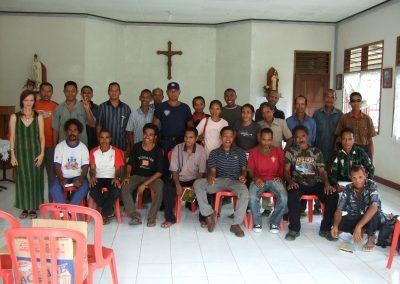 Abschlussklasse in Timor Leste