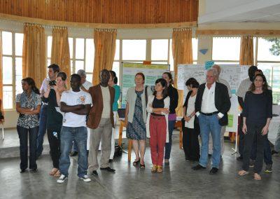Gemeinsam Teilnehmer und Dr. Ruth Mischnick