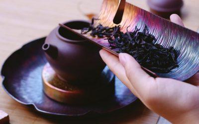 Achtsamkeit mit einem Tee-Ritual